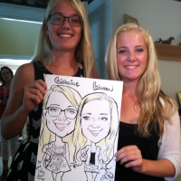 Jason Levinson and Company caricature artists in Virginia